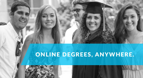 Online Degrees. Anywhere.