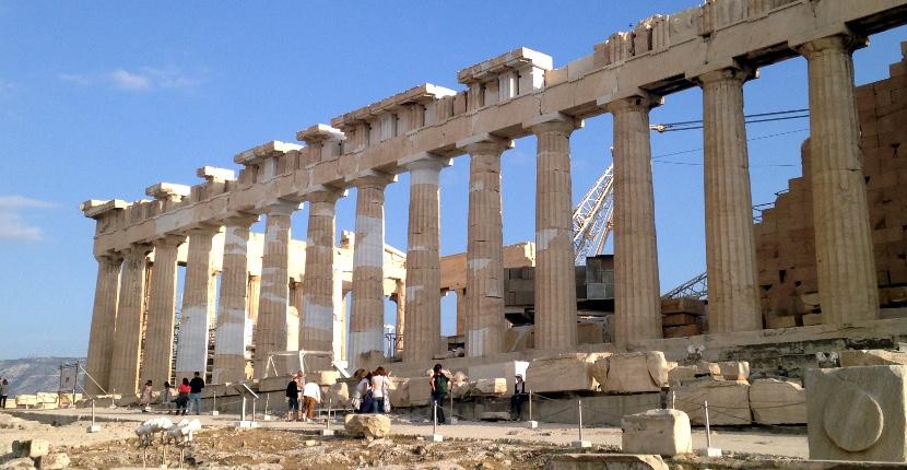 Study Abroad - Ancient ruins