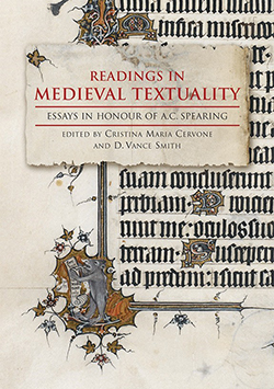 Cristina Maria Cervone Readings in Medieval Textuality Bookcover