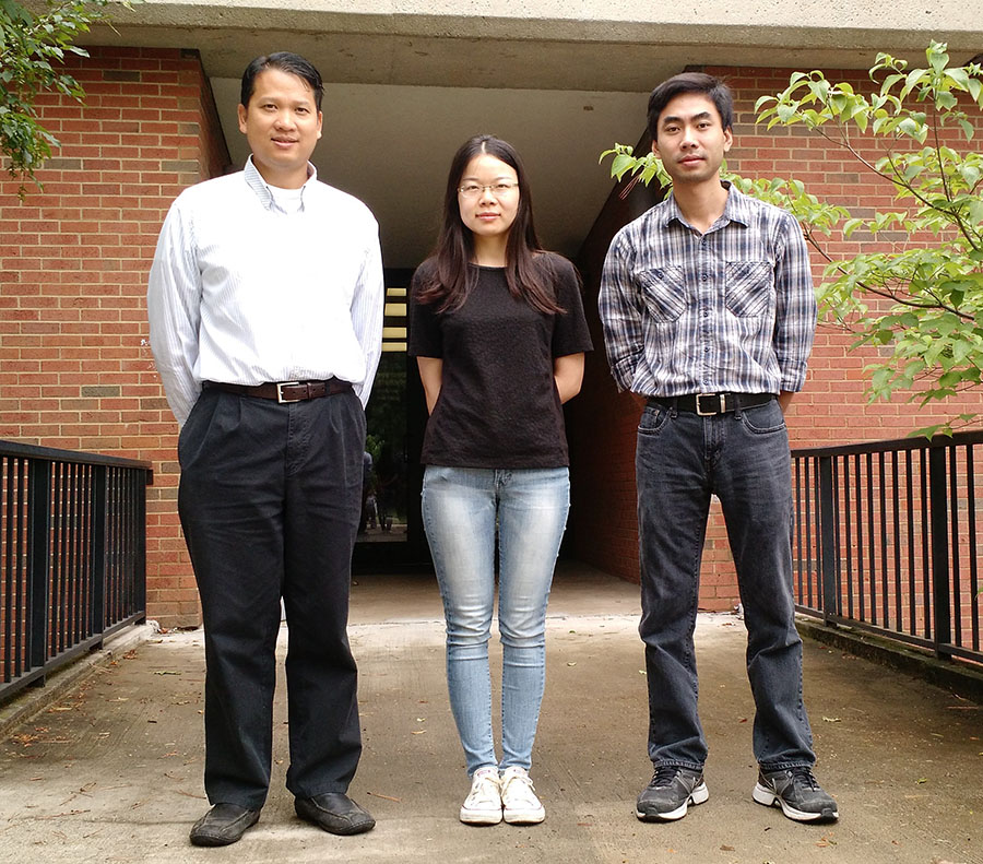 Vinhthuy Phan and Students