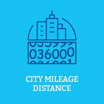 City Mileage Distances