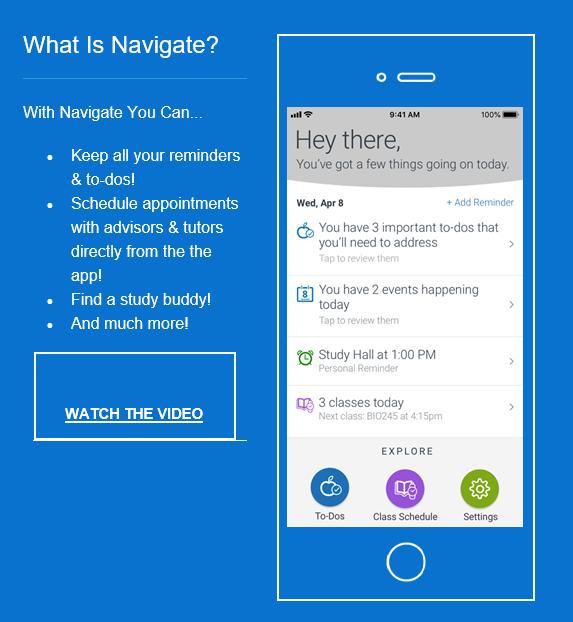 navigate student