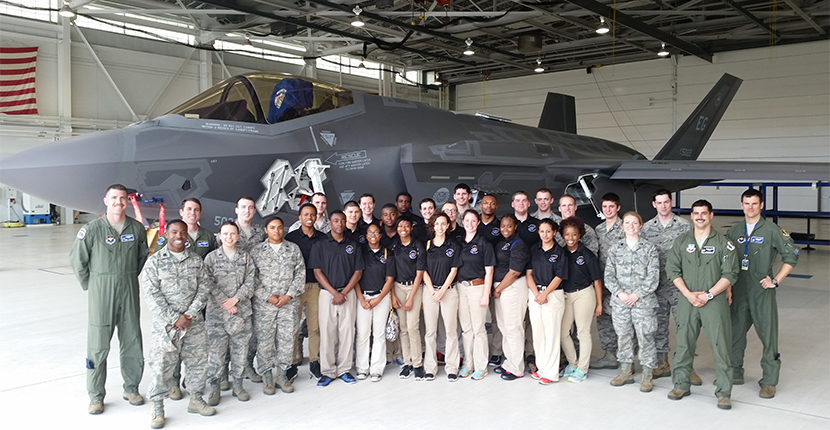 Air Force ROTC Base Visit