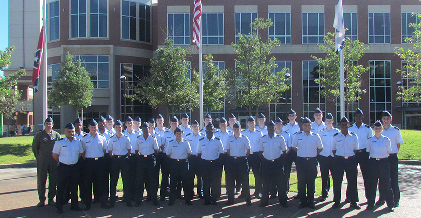 Air Force ROTC All in Blue