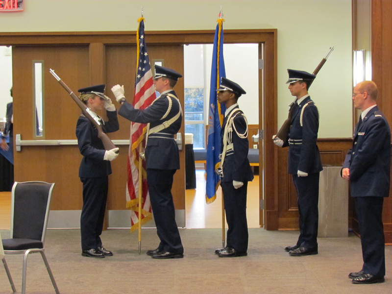 Colorguard 911 Ceremony