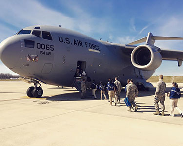 Air Force Base Visits