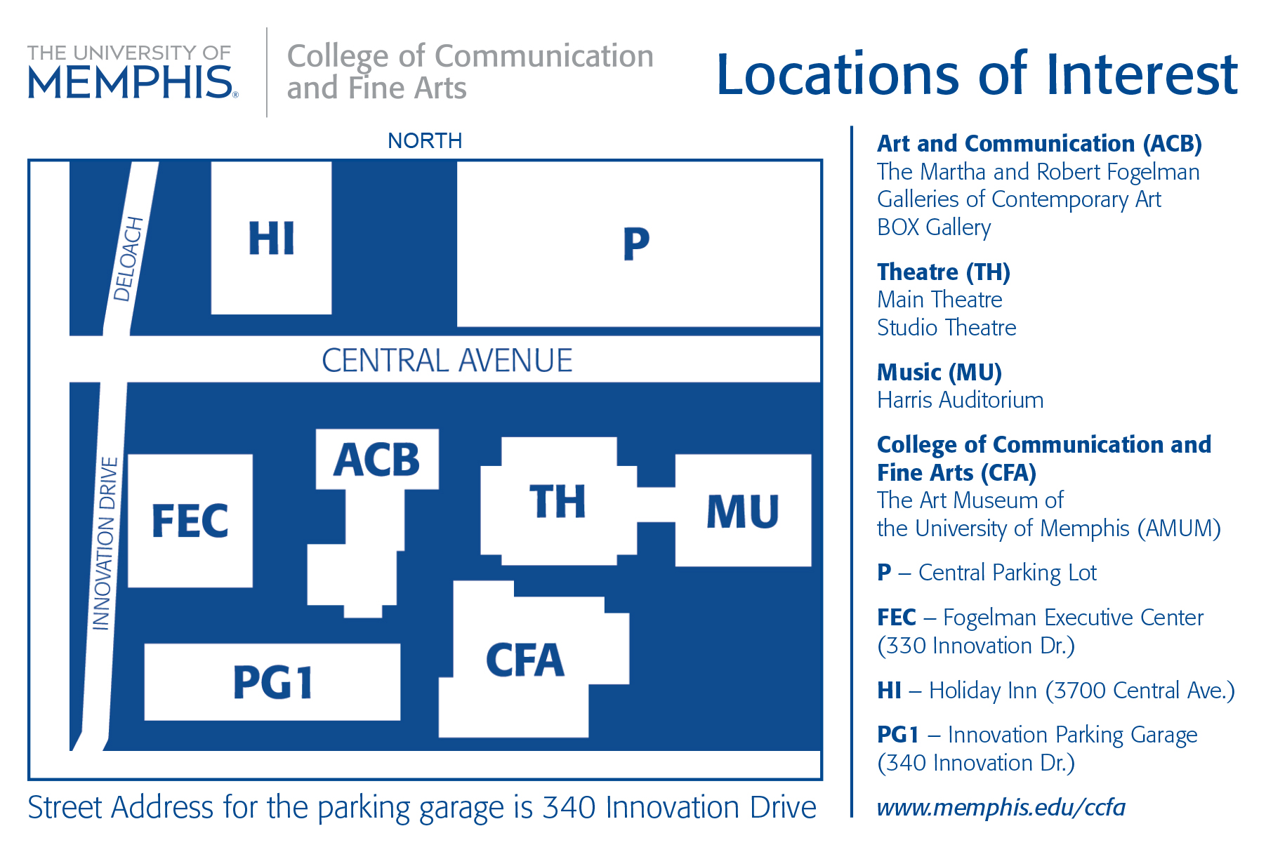 campus art related map