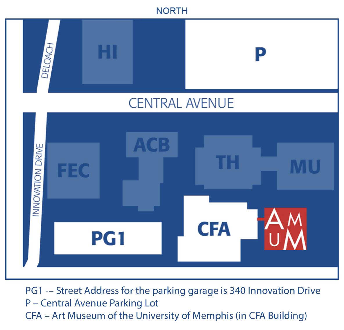 Map to AMUM