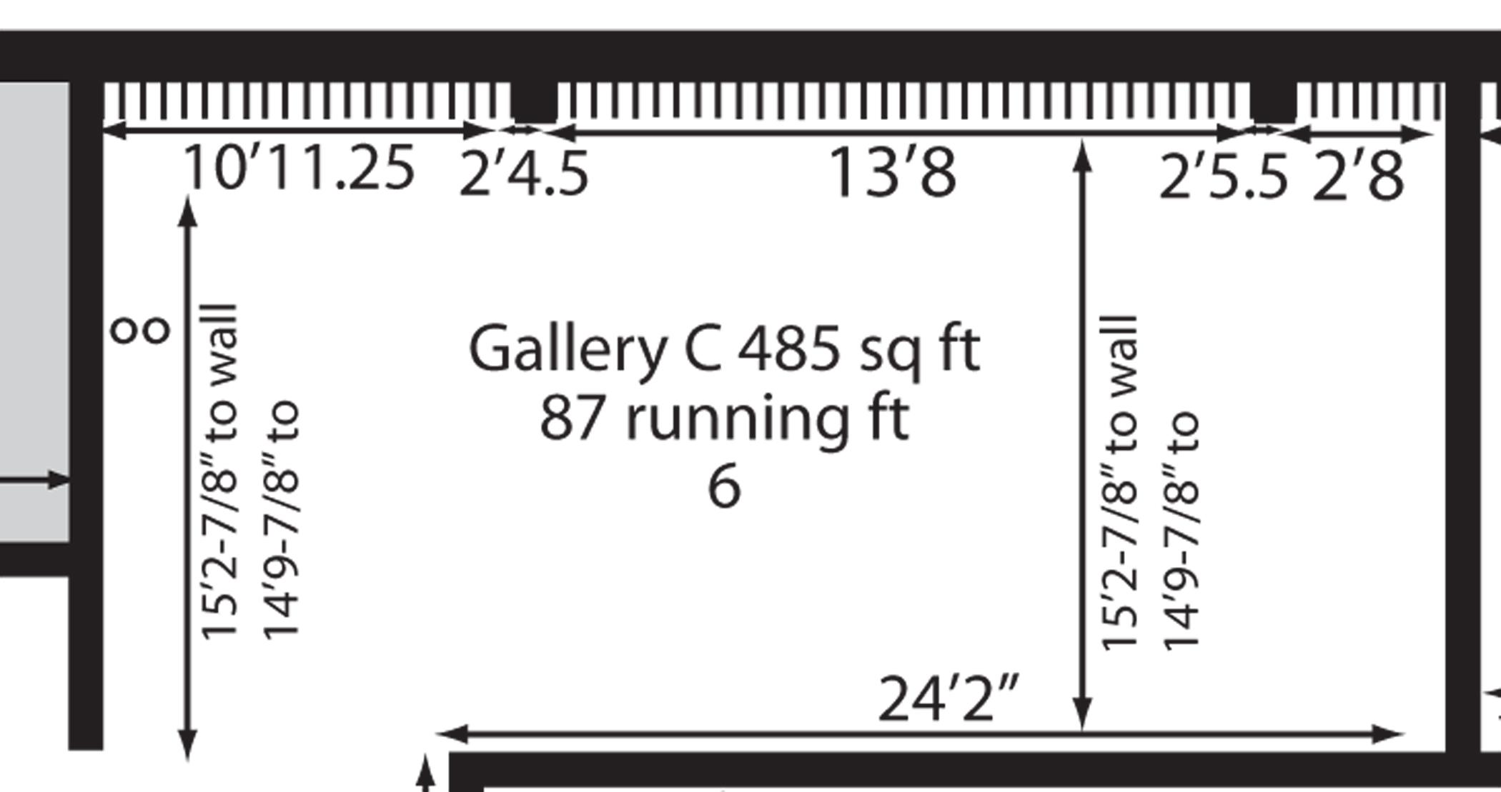 ArtLab Floor Plan (resource for prospective artists)