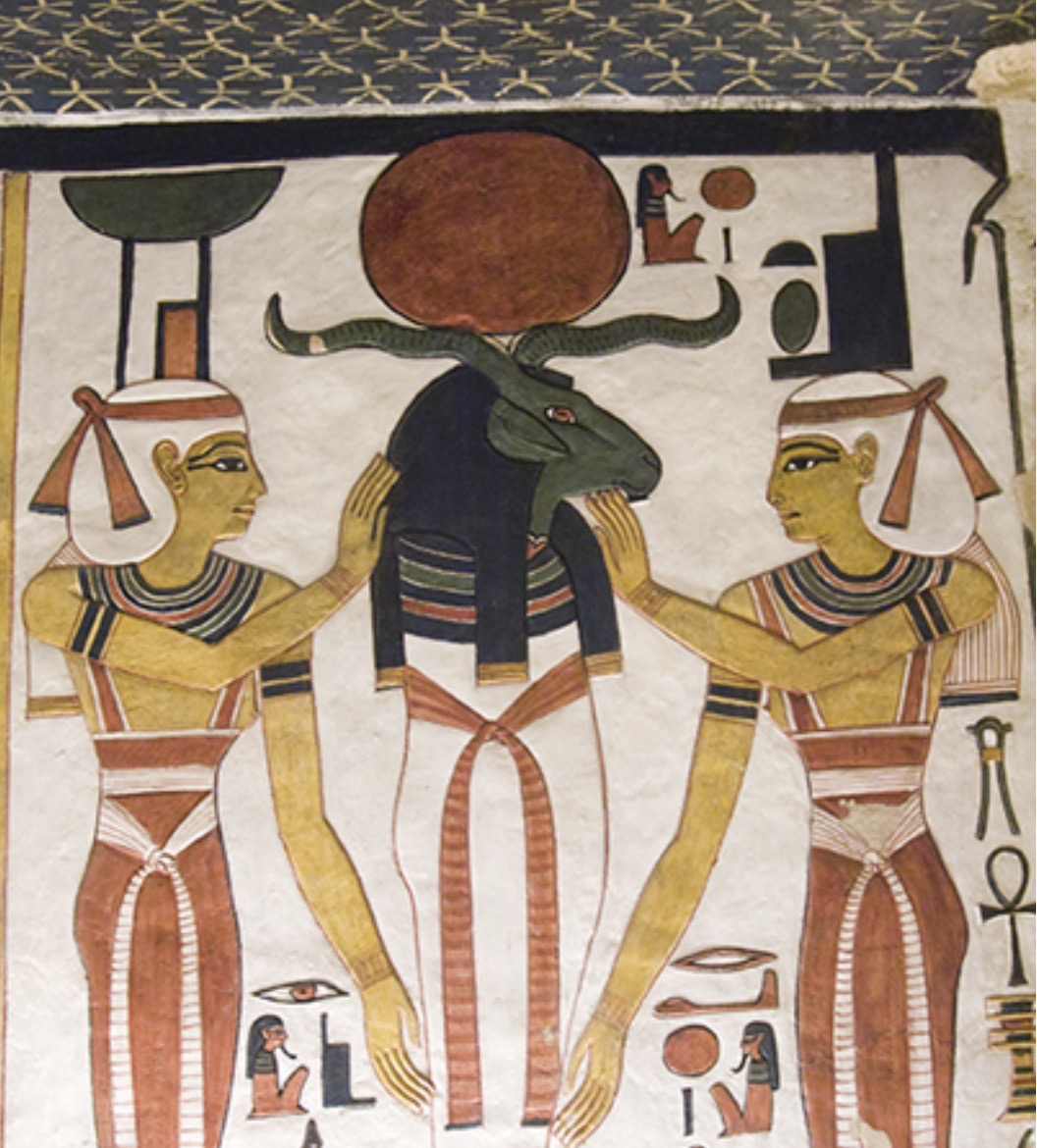 """Photograph from """"Sacred Deities of Ancient Egypt"""" by Jacqueline Thurston"""