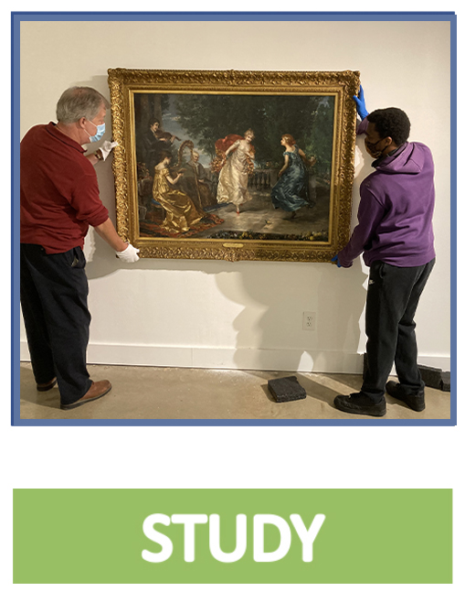 click to learn about museum studies