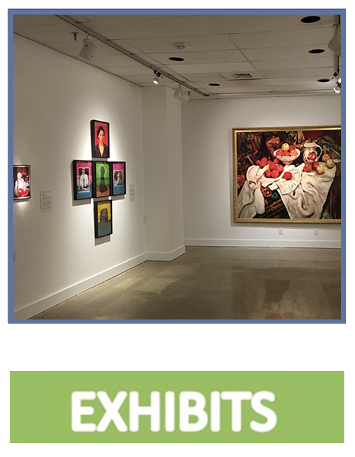 click to learn more about our exhibitions