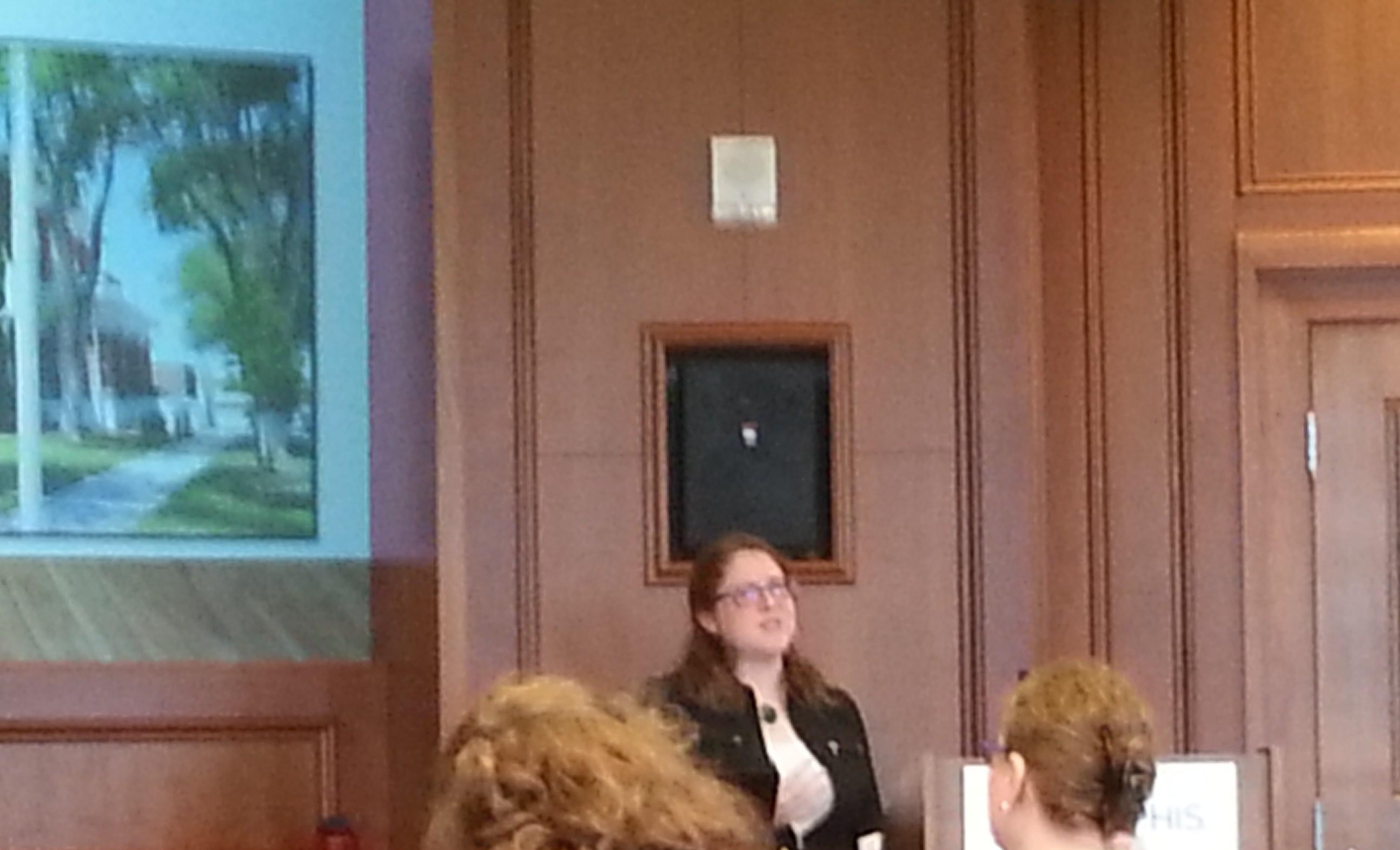 Trish Tobbe at Practicum Forum
