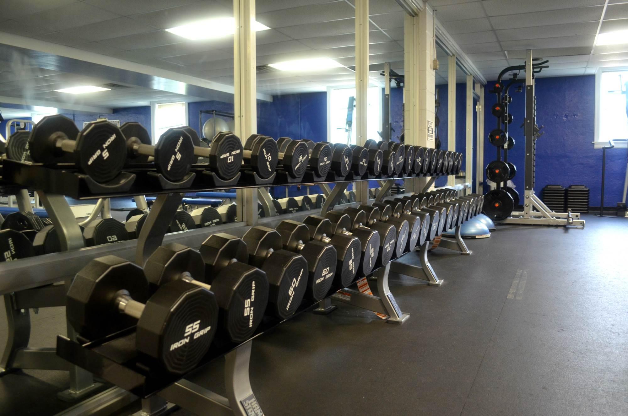 UML weight room