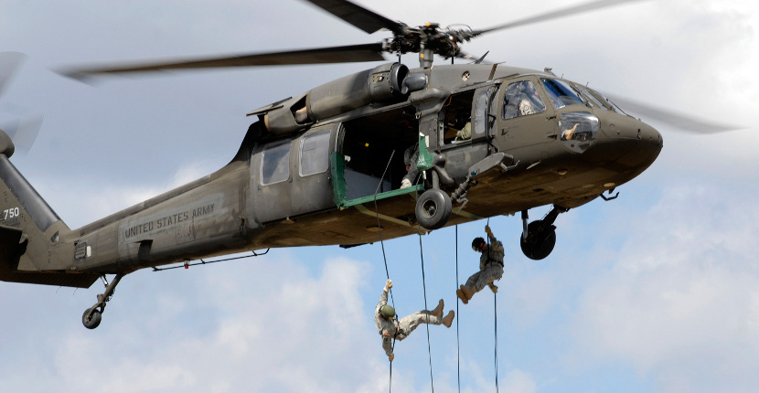 Army ROTC Helicopter Training