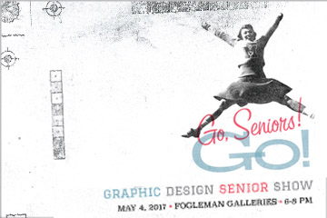 Graphic Design Senior Show Spring 2017