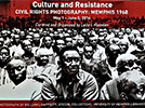 Culture and Resistance flyer