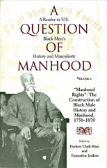 A question of Manhood book cover 1