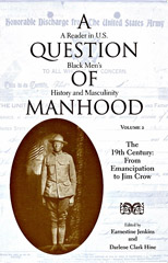 A question of Manhood book cover 2