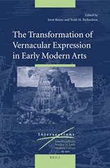 The Transformation of Vernacular Expression in Early Modern Arts book cover