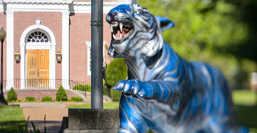 Tiger monument