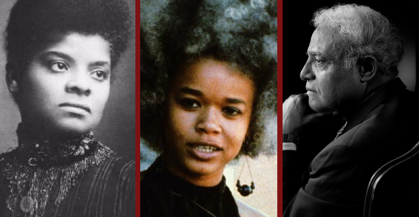 Hooks Institute Documentary Films. Left: Ida B. Wells. Center: The Civil Rights Movement: A Cultural Revolution. Right: Duty of the Hour.