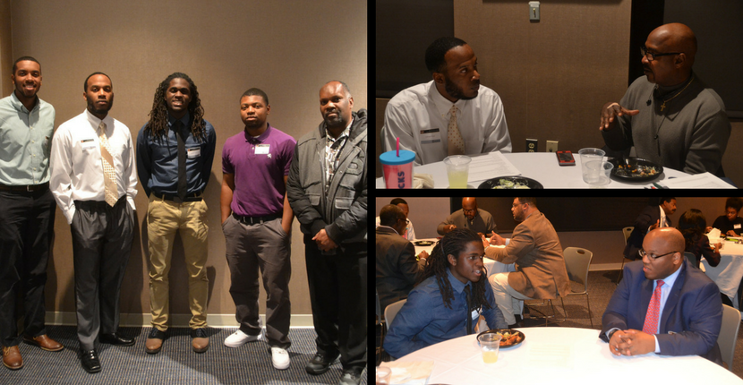 HAAMI members meet with business and community leaders at mentoring session.