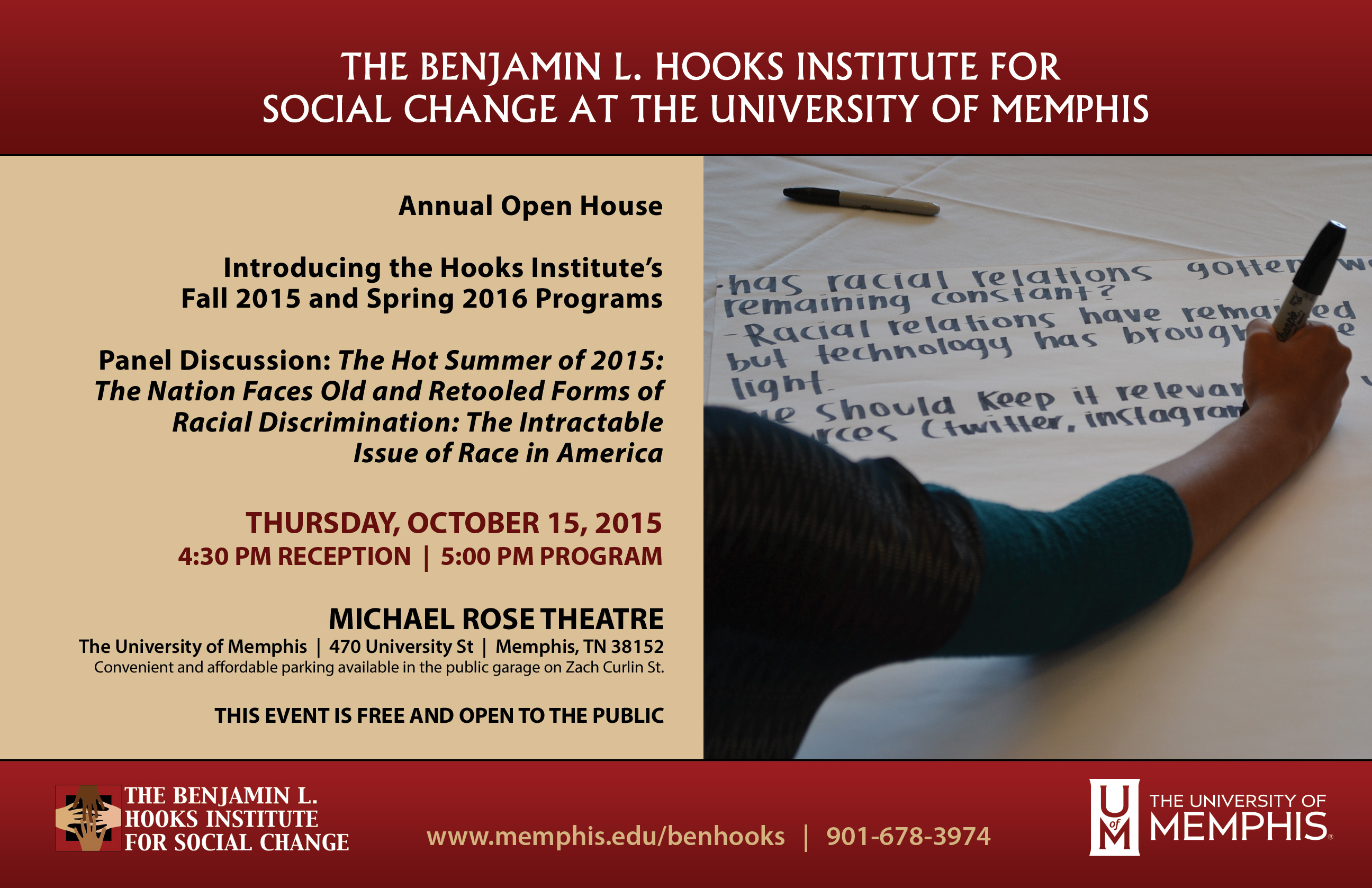 Ben Hooks Open House