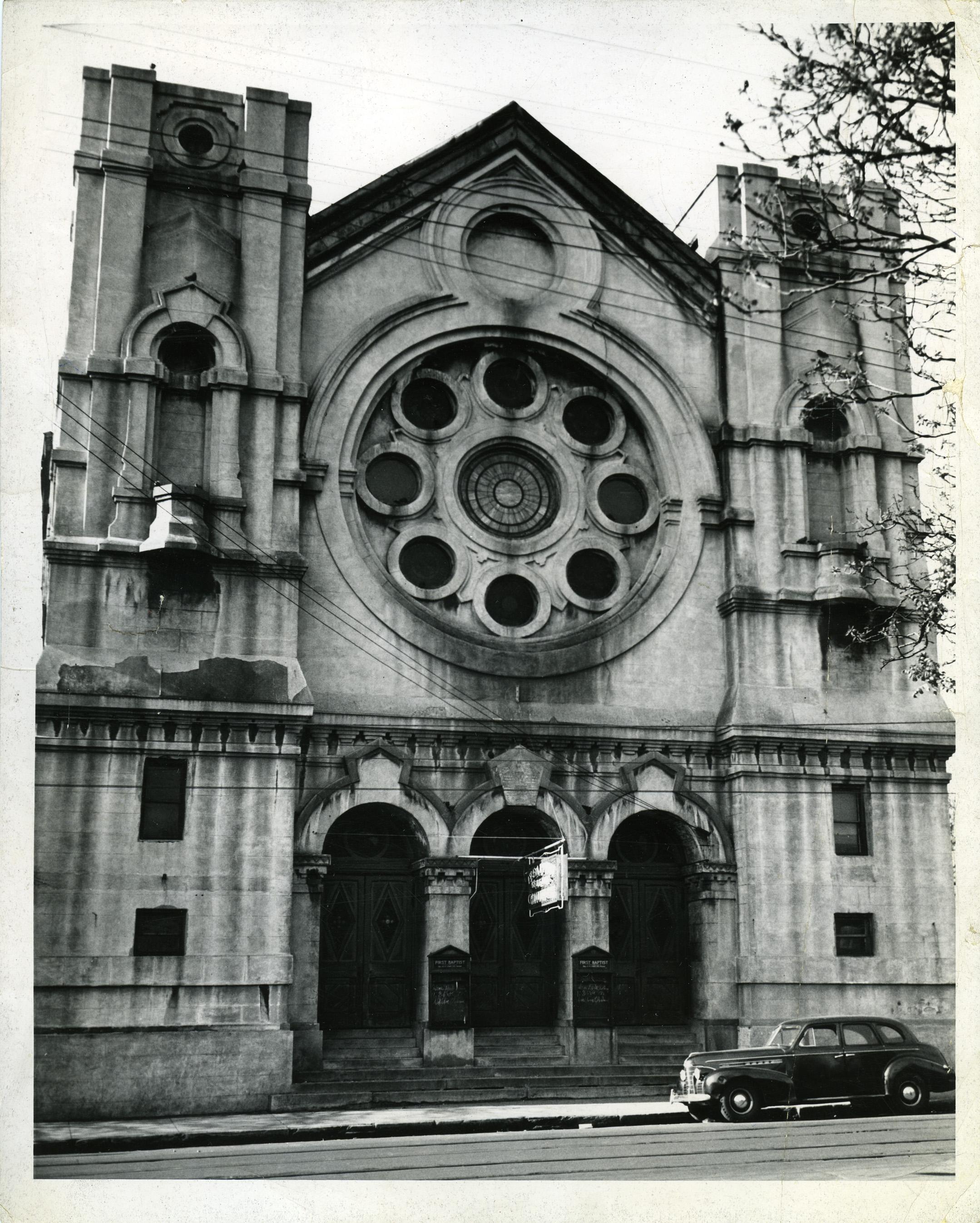 First Baptist Church, 1888