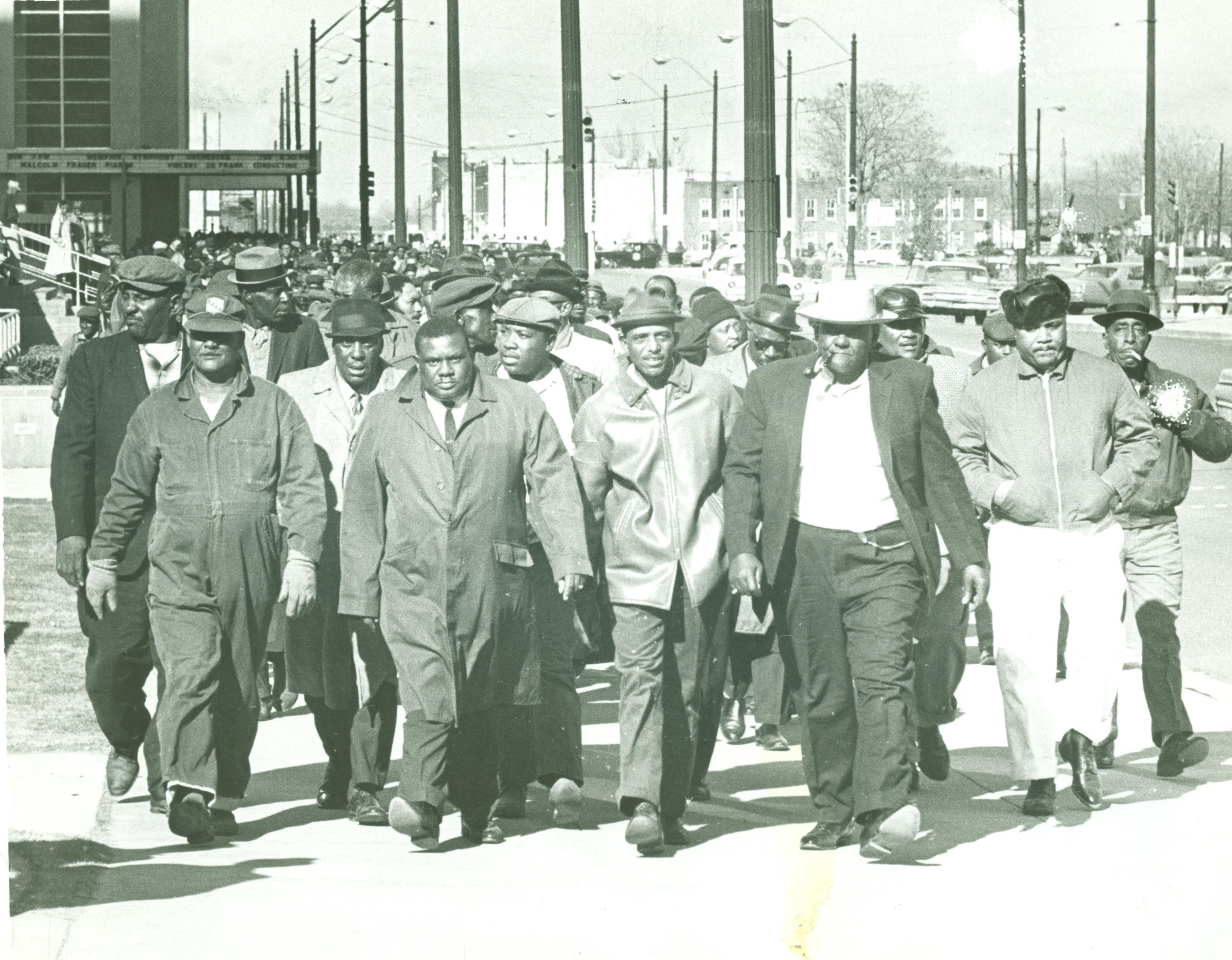 Sanitation Workers March