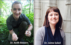 Drs. Keith Bowers and Jaime Sabel