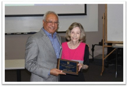 Judy Simon wins George Johnson Fellow Award