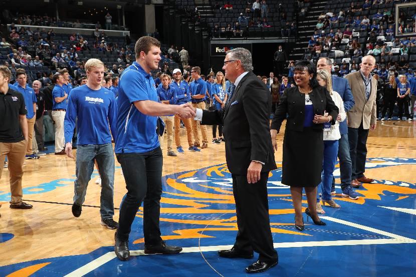 Basketball Game Honors