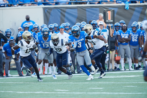 Memphis Football vs. Navy