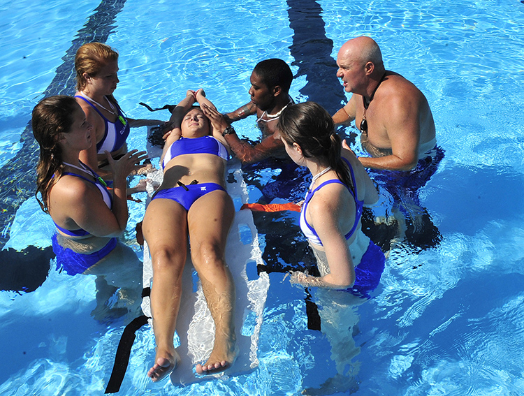 Lifeguard Certification Course by American Red Cross and College of Health Sciences