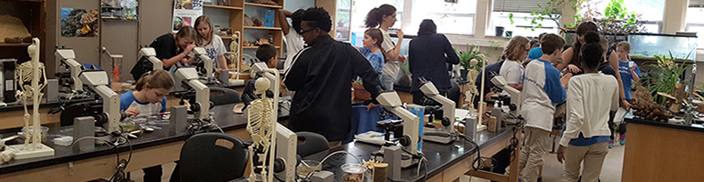 Department of Biological Sciences participate in National Lab Day