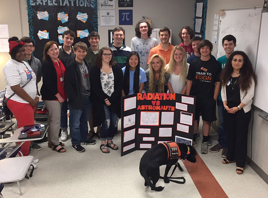 South Gibson High School presents research