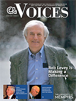 Cover art for the Summer 2007 issue of Voices