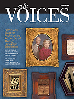 Cover art for the Summer 2009 issue of Voices