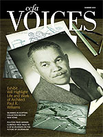 Cover art for Summer 2010 issue of Voices