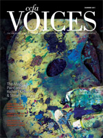 Cover art for Summer 2011 issue of Voices