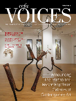 Cover art for the Summer 2013 issue of Voices
