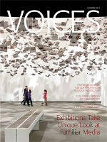 cover art for Summer 2014 Issue of Voices