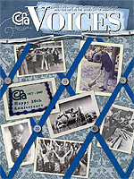 Cover art for Winter 2008 issue of Voices