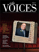 Cover art for Winter 2011 Issue of Voices