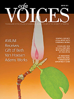Cover art for Winter 2013 Issue of Voices