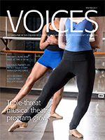 cover art for Winter 2014 Issues of Voices