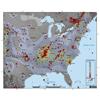 CEUS Seismicity Map