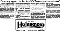 Funding approved for MSU's Centers of Excellence news article