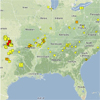 Recent Earthquakes in the Central and Eastern U.S.